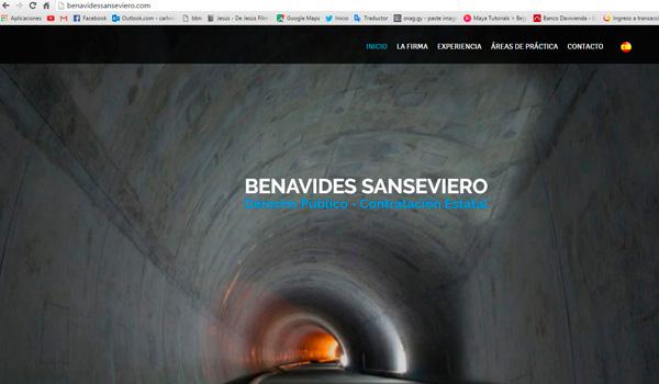 Daniel Benavides Sanseviero - Abogado