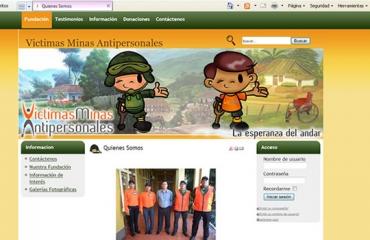Fundación Vicma - Victimas Minas Antipersonales