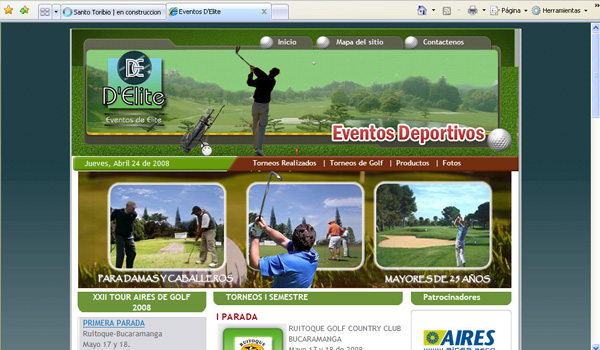 Eventos de Elite - Golf